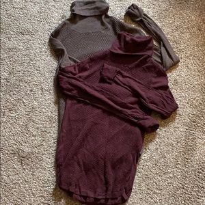 Wool Tunic Sweaters